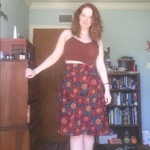 LuLaRoe Skirt in L